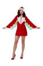 Ladies Parrot Costume