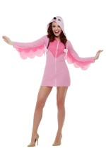 ADULT PINK FLAMINGO COSTUME