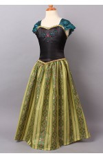 Girl Dress Disney Frozen Anna Party Birthday Fancy Costume Dress