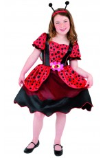 Little LadyBug Costume Animal Jumpsuit Boys Girls Kids Fancy Dress Book Week