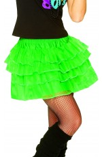 Green 80s skirt lh186green