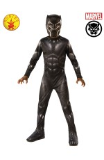 KIDS BLACK PANTHER BATTLE SUIT DELUXE COSTUME