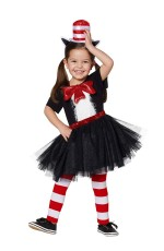 Kids Dr Seuss Cat In The Hat Costume set