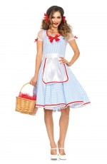 Ladies Dorothy Licensed Costume