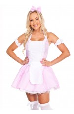 Ladies Little Miss Muffet French Maid Costume