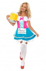 Ladies Maid Fancy Dress Costume
