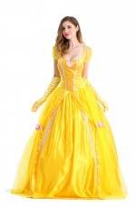 Disney Princess Belle Sleeping Beauty and the Beast Fancy Dress Costume