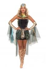 Ladies Cleopatra Costume Roman Egyptian Greek Goddess Fancy Dress Outfits