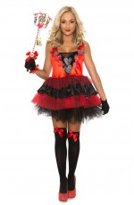 Ladies Queen of Hearts Alice in Wonderland Costume