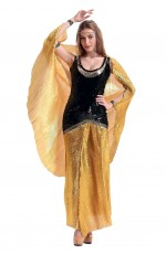 Cleopatra Cleo Egyptian Roman Goddess Cosplay Costume