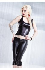 Club Wear - Black Pvc Clubwear