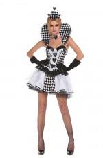 Ladies Queen of Hearts Alice in Wonderland Costume