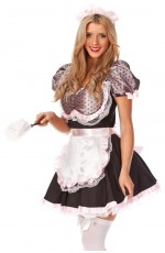 Cute French Maid Dress Up