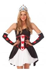 Queen of Hearts Princess Costume