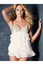 Baby doll - Multi-tiered Tulle Ruffles Badydoll