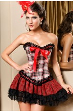 Ladies Burlesque fancy Dress Corset