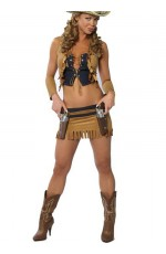 Sexy Cowgirl Sheriff Costume