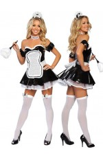French Maid Costumes LC-8428