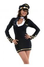 Air Hostess Costumes LG-11129