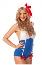 Sailor Pin Up Dress Up Costume