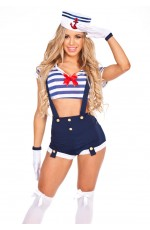 Sailor Harbor Hottie Costume
