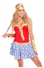 Adult Wonder Superhero Costume