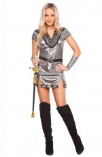 Metal Xena Gladiator Warrior Costume