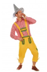Mens German Beer Oktoberfest Halloween Fancy Dress Costume