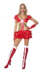 Ladies Hot Hero Fancy Dress Costume