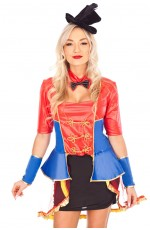 Ladies Ringmaster Circus Lion tamer Fancy Dress