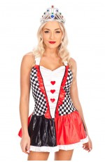 Ladies Queen of Hearts Fancy Dress