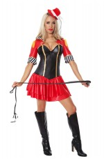 Ladies Circus Ringmaster Fancy Dress Costume