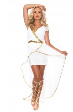 Ladies Cleopatra Costume Roman Egyptian Greek Goddess Fancy Dress Outfits