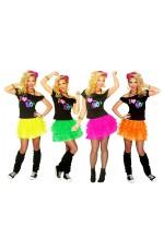 I Love the 80s T-shirt Skirt Costume