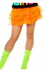 Orange 80s skirt lh186orange