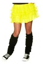 Yellow 80s skirt lh186yellow