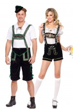 Couple Oktoberfest Bavarian Costume