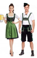 Couple Oktoberfest German Costume