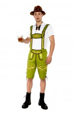 Mens Lederhosen Costume NO HAT