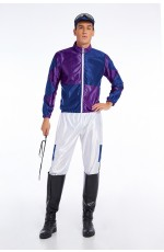 Purple Jockey Costume Full Set