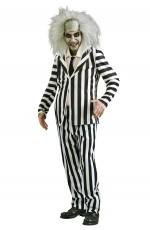 Mens Mr Beetlejuice Halloween Costume lh239