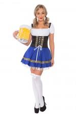 Ladies Oktoberfest German Bavarian Beer Maid Costume