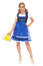 Beer Maid Oktoberfest Costumes lh302Nb_3