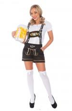 Ladies Oktoberfest German Bavarian Heidi Costume