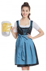 Ladies German Bavarian Beer Maid Vintage Costume