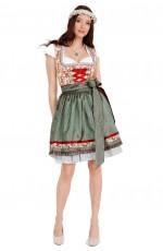 Ladies Oktoberfest Vintage Beer Maid Costume