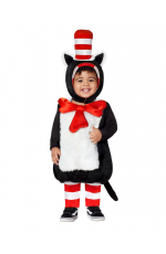 Kids Dr Seuss Cat In The Hat Party Book Week Fancy Costume Outfit