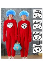 Kids Thing 1 and Thing 2 Jumpsuit pp1008
