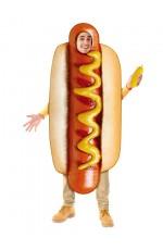 Hotdog Footy Match Food Costume