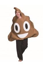 Poo Emoji Adults Costume